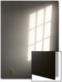 Light and Shadow from a Window Along with an Electrical Socket Print by John Nordell