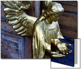 Golden Angel at Doors Posters by Winfred Evers