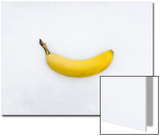 Banana on Snow Prints by John Churchman