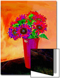 Flowers in Vase Illustration Prints by Rich LaPenna