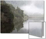 Mist over Kareiga River Near Kenton-On-Sea, Eastern Cape, South Africa Prints by Neil Overy