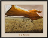 The Sower Poster by Garret Walker