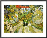 Stairway at Auvers Print by Vincent van Gogh