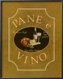 Pane e Vino Print by Catherine Jones
