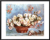 Chrysanthemums, c.1878 Prints by Claude Monet