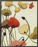 Pavots Ondule Posters by Shirley Novak