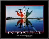 Patriotic United We Stand Print
