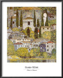 Church at Cassone sul Garda Posters by Gustav Klimt