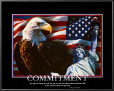 Patriotic Commitment Art