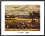 The Wagons Empty Prints by William Aiken Walker