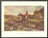 English Hunting Scenes IV Art by William Joseph Shayer