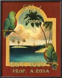 Hotel Oceano Prints by Catherine Jones