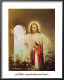 Christ Showing the Way Posters by Myung Bo