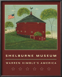 Round Barn Posters by Warren Kimble
