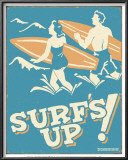 Surf's Up Prints by B. J. Schonberg