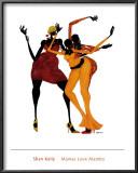 Mamas Love Mambo Poster by Shan Kelly