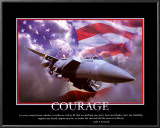 Patriotic Courage Posters