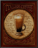 Italian Coffee Prints by Gregory Gorham
