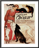 Clinique Cheron, c.1905 Print by Th&#233;ophile Alexandre Steinlen
