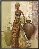 Safari Fashions II Print by Julia Hawkins