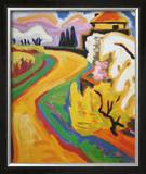 Spring in Taunus Prints by Karl Schmidt-Rottluff