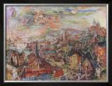 View of Prague Prints by Oskar Kokoschka