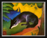 Fox, c.1913 Art by Franz Marc