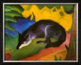 Fox, c.1913 Art by Franz Marc