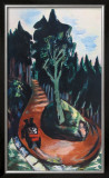 Winding Path in the Black Forest Posters by Max Beckmann