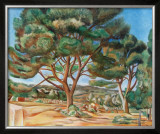 The Stone Pine Print by Andre Derain