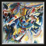 Improvisation Klamm Poster by Wassily Kandinsky