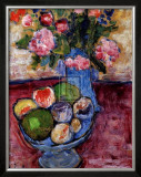 The Blue Vase Prints by Alexej Von Jawlensky