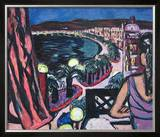 Promenade des Anglais À Nice Posters by Max Beckmann