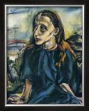 Portrait d'une Jeune Fille, c.1913 Posters by Oskar Kokoschka
