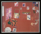 The Red Studio Art by Henri Matisse
