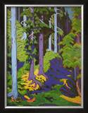 Inside the Forest, 1937 Poster by Ernst Ludwig Kirchner