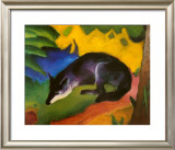 Fox, c.1913 Print by Franz Marc