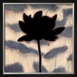 Blossom Silhouette I Prints by Erin Lange
