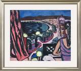 Promenade des Anglais À Nice Prints by Max Beckmann
