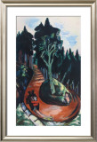 Winding Path in the Black Forest Prints by Max Beckmann