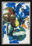 Green Predominating Prints by Ernst  Wilhelm Nay