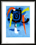 Bluxao V, 1955 Prints by Willi Baumeister