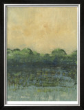 Viridian Marsh I Limited Edition Framed Print by Julie Holland