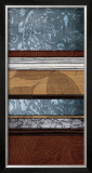 Pillars of Pattern I Prints by W. Blake