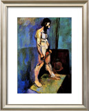 Male Nude Model Framed Giclee Print by Henri Matisse