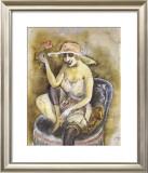 Jeune Fille a la Rose, c.1923 Art by Otto Dix