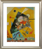 Silent Harmony Poster by Wassily Kandinsky
