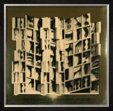 At Pace Columbus, Gold Print by Louise Nevelson