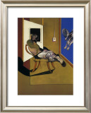 Figure Assise, c.1974 Posters by Francis Bacon