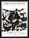 Homage a Joan Prats 1972 Limited Edition Framed Print by Joan Miró